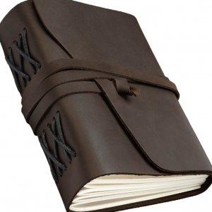 Робота Необычный блокнот кожаный ручной работы для записей