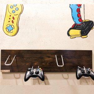 Робота Дерев'яне кріплення Pride&Joy для ігрових джойстиків