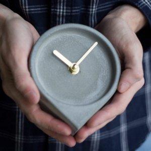 Робота Годинник з бетону,бетонные часы