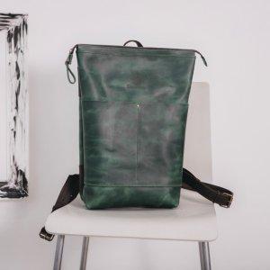 Робота Рюкзак городской,  унисекс, рюкзак из кожи