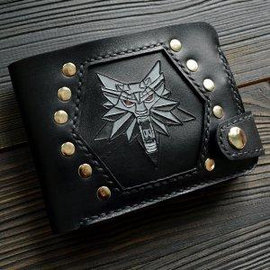 Портмоне з вовком ′Witcher′ (чорне)