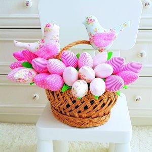 Робота Тюльпаны тильда  « розовая мечта»