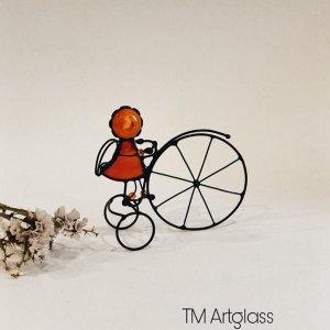 Статуетка Ангел на велосипеді