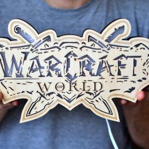 Работа Светильник из дерева - World of Warcraft