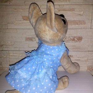 Робота Одежда для собачки Чи Чи Лав. Голубое платье.