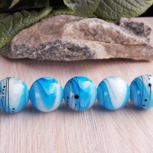 Робота Бусины «Градиент» голубые