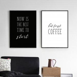 """Комплект постерів """"Start & Coffee"""""""