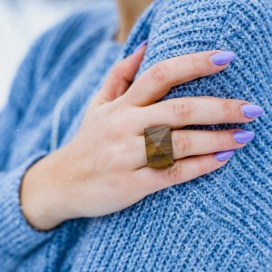 Дерев'яний перстень