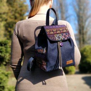 Джинсовый рюкзак 15007-3
