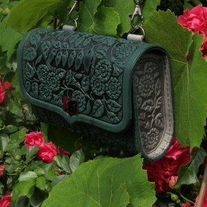 """сумка на пояс"""" Дзвіночки зелені"""