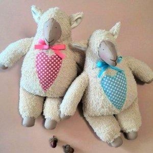 Мягкая игрушка овечка Тильда