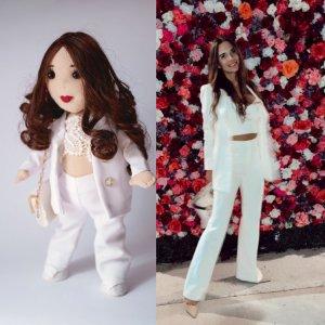 Портретна лялька під замовлення по фотографії