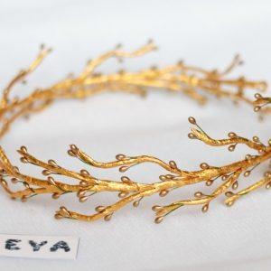 Золотые ветви веночек