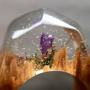 """перстень  """"violet"""""""