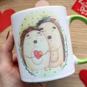 "Чашка с принтом  ""Я твоє щастя"""