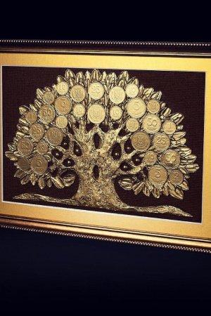 "Подарок мужчине, денежное дерево ""Дуб""."