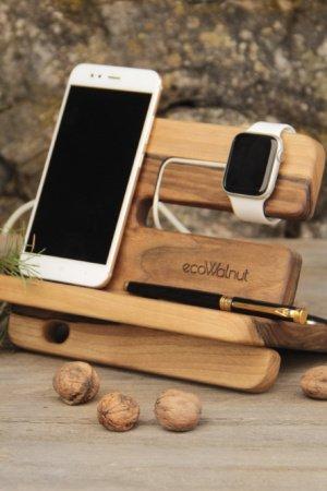 Подставки Для Телефонов Часов iWatch Apple iPhone Из Дерева