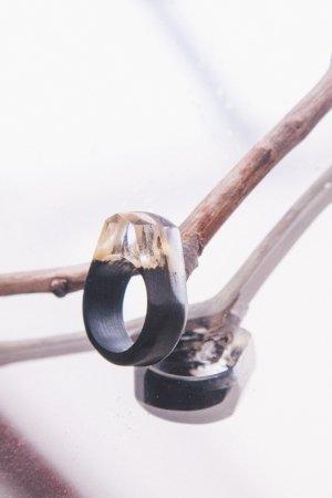 Кольцо Gold a Black