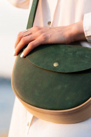 REA Green. Авторська сумка ручної роботи.