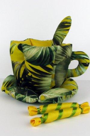 Сувенир ′Зеленая чашка′